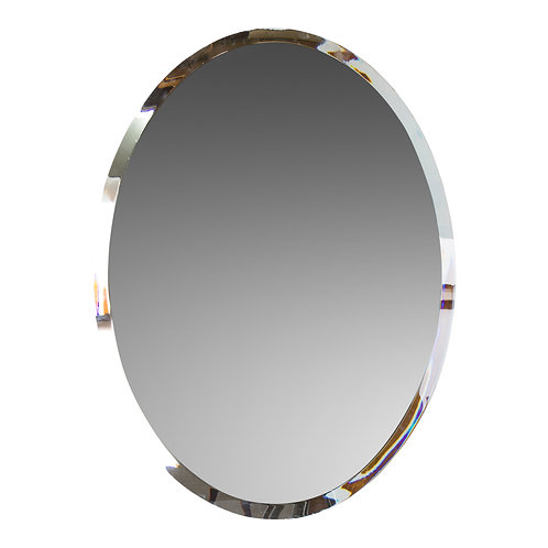 Farrah Oval Mirror Sign/Tray - S