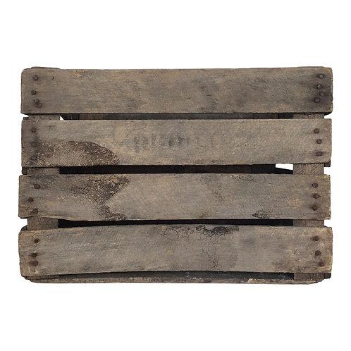 Slatted Wood Crate