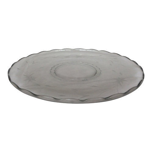 7-Up Clear Punch Platter