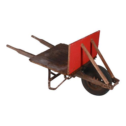 Primitive Wheel Barrow
