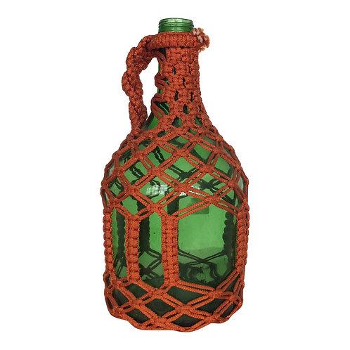 Colored Glass Demijohn
