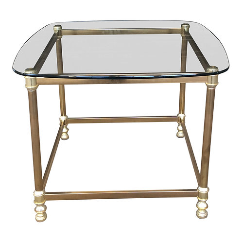 Fontaine Brass End Table