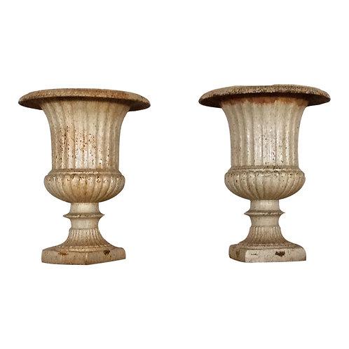 Ivory Iron Urn