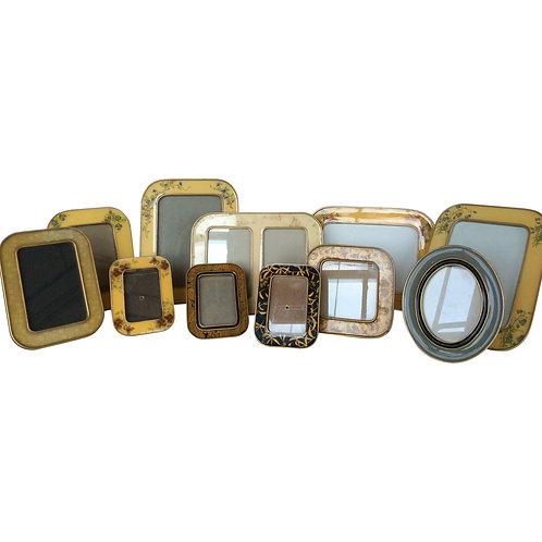 Enameled Tabletop Frame (Assorted)