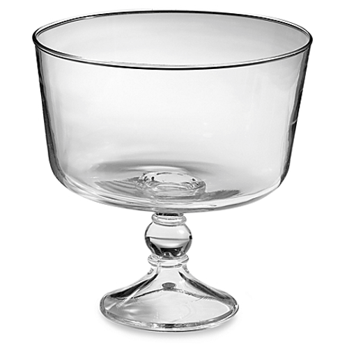Clear Trifle Bowl