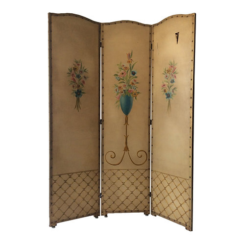 Floral Dressing Screen