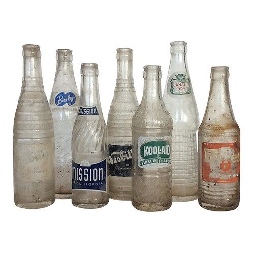 Soda Fountain Glass Bottle