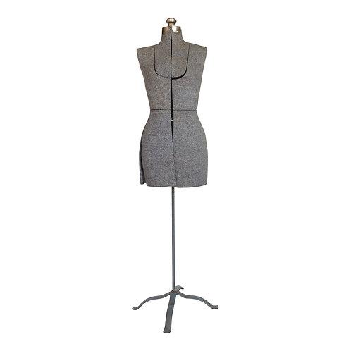 Shades of Gray Dress Form
