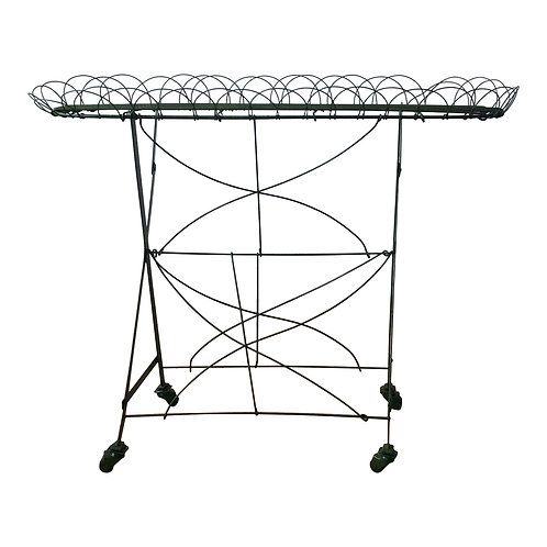 Green Metal Stand