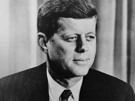 """JFK: A """"Different"""" Perspective on the Covid-19 Vaccine (audio/text)"""
