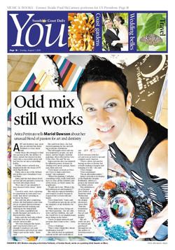 Article 'Odd mix still works' Sunshine C