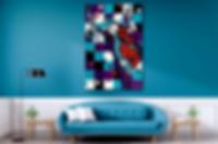 SAXMAN SPY Original Artwork for Modern Home Interior Decor | Contemporary Pop Art Prints For Sale by Artist Anita Nevar.