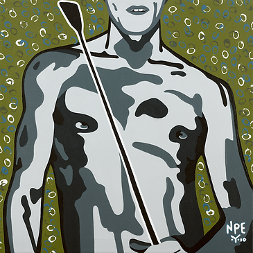 IT'S A FINE LINE Fine Art Prints For Sale | Pop Erotic Artwork by Artist Anita Nevar.