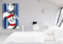 LOLITA Original Artwork for Modern Home Interior Decor | Pop Erotic Art Prints For Sale by Artist Anita Nevar.