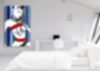 LOLITA Pop Erotic Artwork for Modern Home Interior | Fine Art Prints For Sale by Artist Anita Nevar.