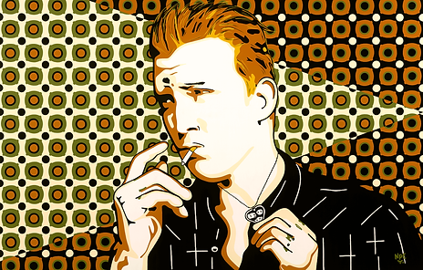 I WANT YOU SO HARD Josh Homme Fine Art Prints For Sale | Pop Rock Artwork by Artist Anita Nevar.