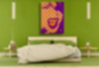 SCREAM V2 Pop Erotic Artwork for Modern Home Interior | Fine Art Prints For Sale by Artist Anita Nevar.