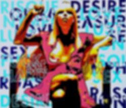 SEXCESS Original Canvas Painting | Pop Erotic Artwork by Artist Anita Nevar.