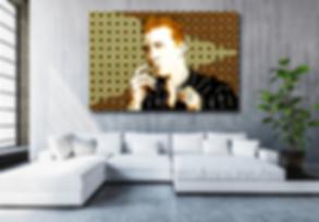 I WANT YOU SO HARD Original Artwork for Modern Home Interior Decor | Contemporary Pop Art For Sale by Artist Anita Nevar.