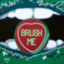 BRUSH ME Fine Art Prints For Sale | Pop Erotic Artwork by Artist Anita Nevar.