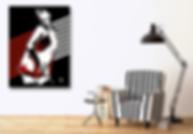 I TOUCH MYSELF Chrissy Amphlett Divinyls Pop Erotic Artwork for Modern Home Interior | Fine Art Prints For Sale by Artist Anita Nevar.