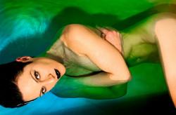 Anita Nevar Erotic Artist _ Neon Blue Po