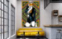 MELUXINE Original Artwork for Modern Home Interior Décor | Pop Erotic Art Prints For Sale by Artist Anita Nevar.