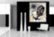 EVIL A Original Artwork for Modern Home Interior Décor | Pop Erotic Fine Art Prints For Sale by Artist Anita Nevar.