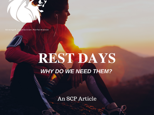 Rest Days : Why Do We Need Them??