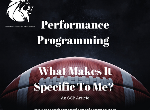 Performance Programming : What Makes It Specific To Me?