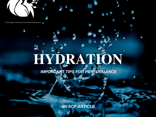 Hydration : 2 Tips that will effect your performance