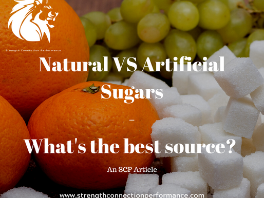 Natural VS Artificial Sugars : Whats the best source of energy??