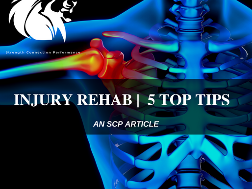 INJURY REHABILITATION | 5 TIPS TO GETTING IT RIGHT