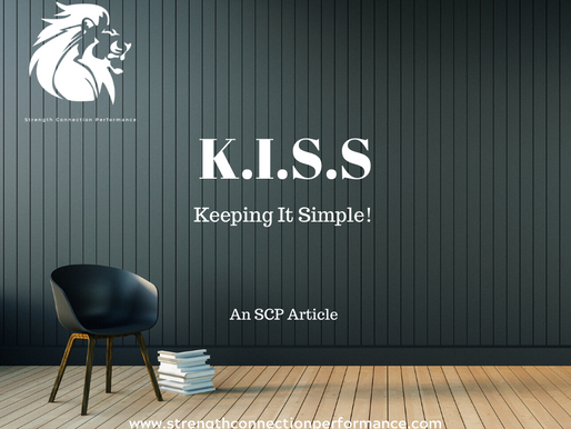 K.I.S.S : Keep It Simple Stupid