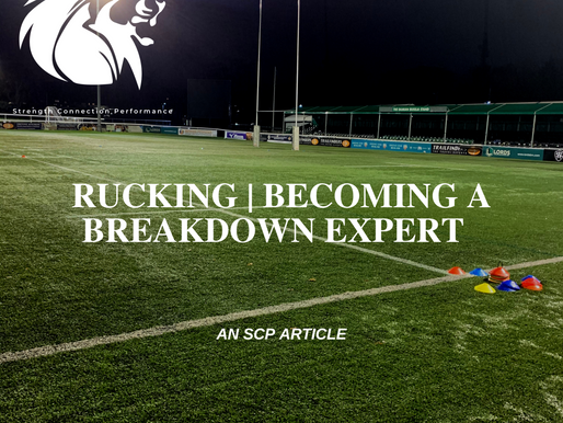 RUCKING  | BECOMING A BREAKDOWN SPECIALIST