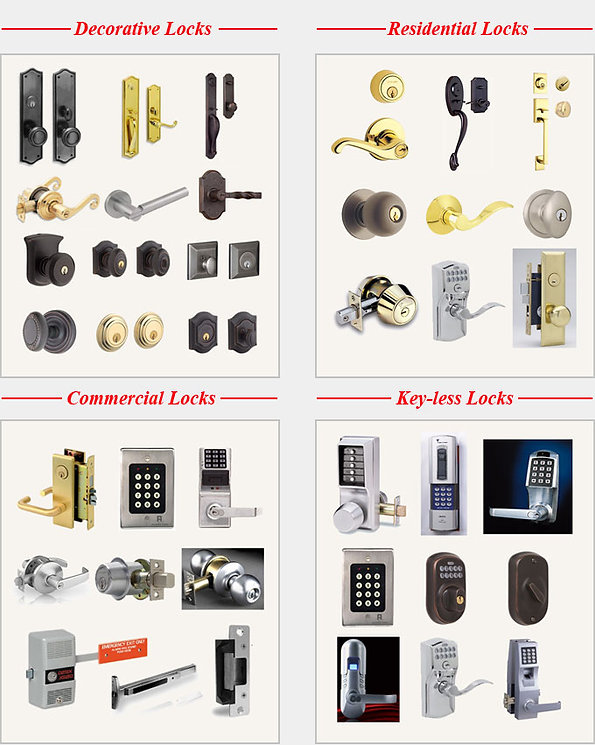 Residentioal and Commercial Locks