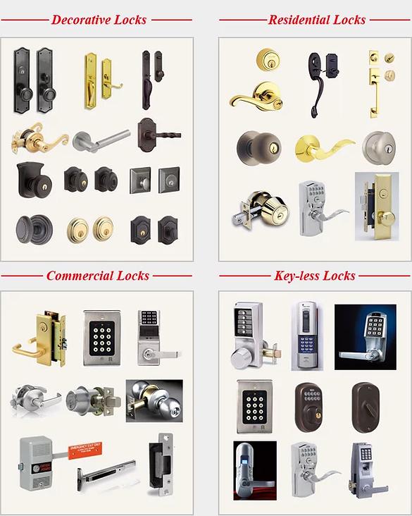 Different Locks