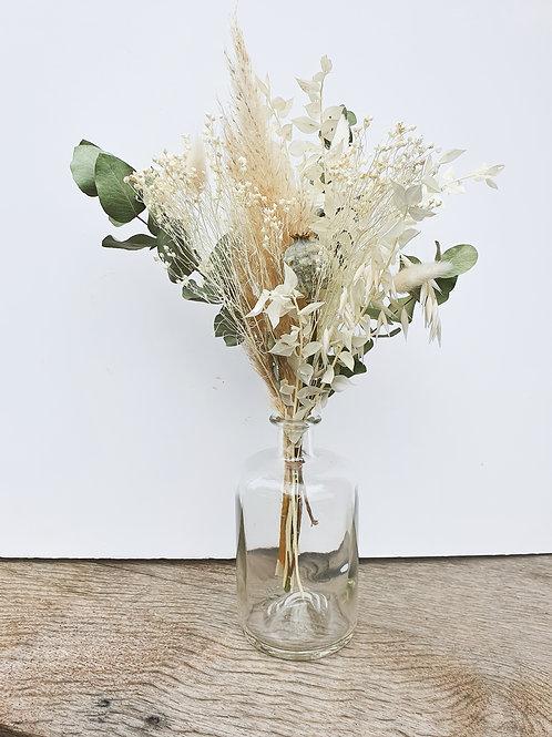 Bouquet Euca + vase