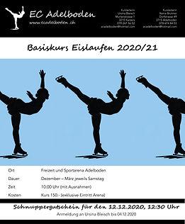 Basiskurs Eislaufen 2020/21