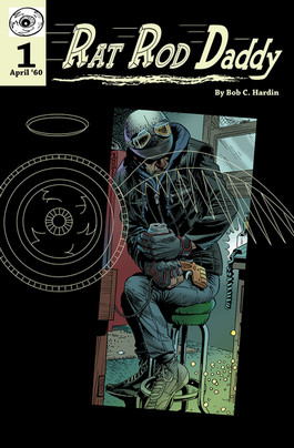 Rat Rod Daddy/Comic Book Cover