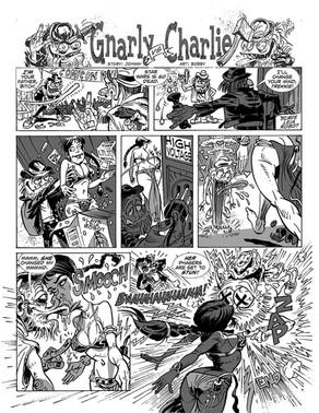 Gnarly Magazine/Comic Book Story