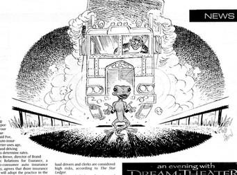 Exit Magazine Editorial Art