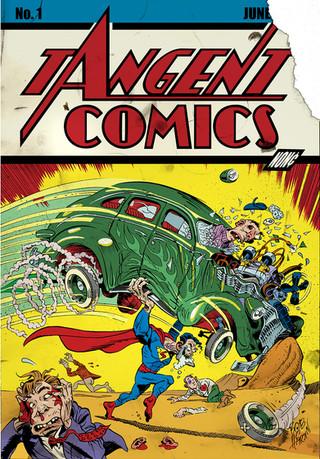 Tangent Comics cover