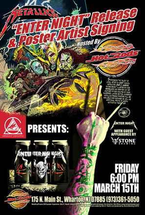 Restaurant Promo/Stone Brewing Beer Release/Artist Signing Event