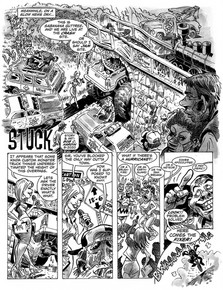 CARtoons Magazine/Comic Book Story