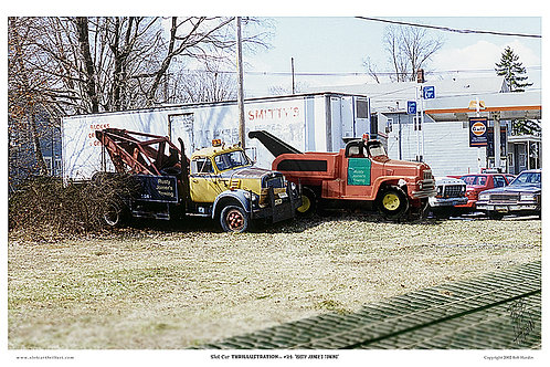 """Slot Car Thrillustration #24 """"RUSTY JOINER'S TOWING"""""""
