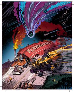 CARtoons Magazine Cover Art