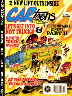 CARtoons Magazine/Comic Book Cover