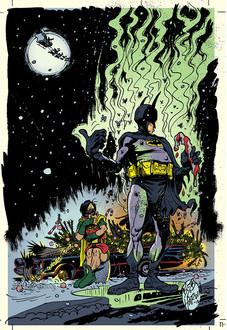 Jingle Bells Batman Smells Parody Print