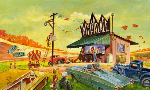 Slot Car Thrillustration Series Art